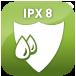 Wasserdicht (IPX8)